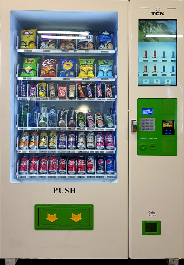 Touchscreen Vending Machines